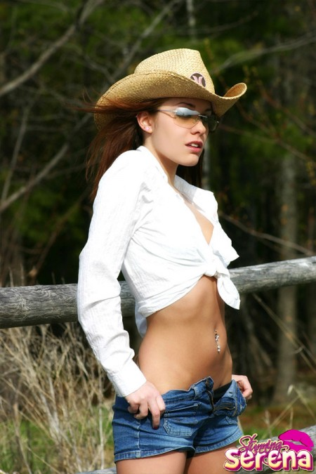 stunning serena country girl